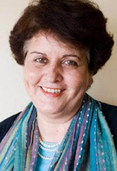 Dr. Mona El Farra, founder of the therapy program Let the Children Play and Heal in Gaza